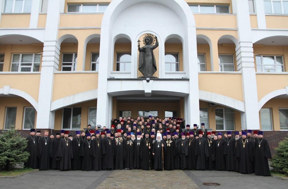 Духовенство Днепропетровской епархии УПЦ общее фото