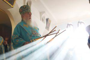 Архипастырский визит в Богородице-Рождественский храм