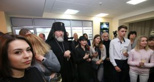 Архиепископ Евлогий принял участие в открытии медиа-холдинга «Відкритий»