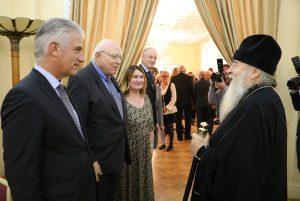 Митрополит Ириней принял участие в приеме по случаю государственного праздника Германии