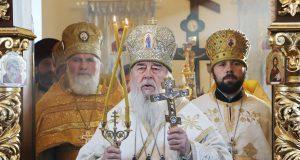 Митрополит Ириней посетил село Чаплинка Юрьевского района