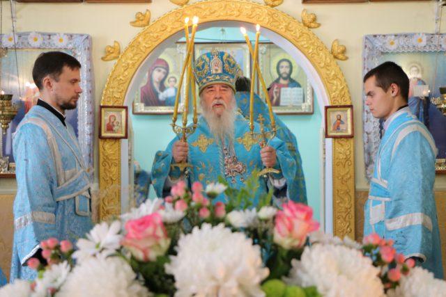 Престольное торжество в больничном храме иконы Божией Матери