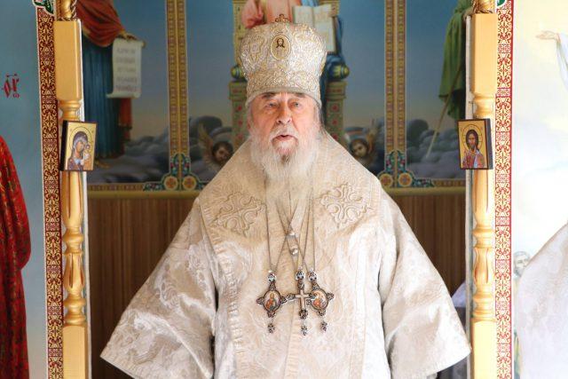 Первое Архиерейское служение в Вознесенской общине г. Першотравенск