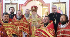 Архипастырский визит в с. Райполе Межевского района