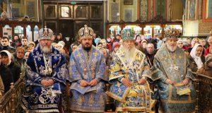 В праздник Озерянской иконы Божией Матери в Харькове состоялось соборное архиерейское богослужение