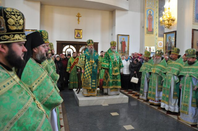 Архиепископ Евлогий поздравил митрополита Луку с днем Архиерейской хиротонии