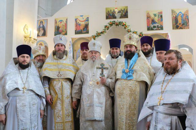 21 ноября – престольное торжество Архангело-Михайловского храма г. Днепра