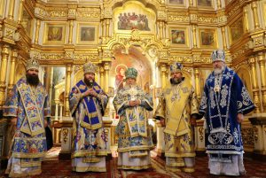 10-летие архиерейской хиротонии архиепископа Каменского и Царичанского Владимира