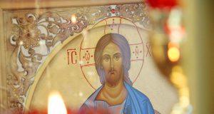 В третью пятницу ноября совершена Литургия в домовом храме