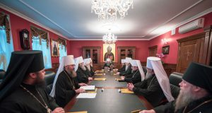 Журналы заседания Священного Синода Украинской Православной Церкви от 13 ноября 2018 года