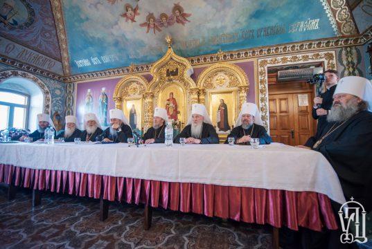 Заявление Собора епископов Украинской Православной Церкви