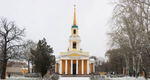 В Спасо-Преображенском соборе г.Днепра почтили память небесной покровительницы нашего города