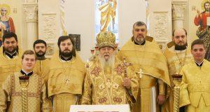 Архипастырское служение в храме Собора Киевских святых