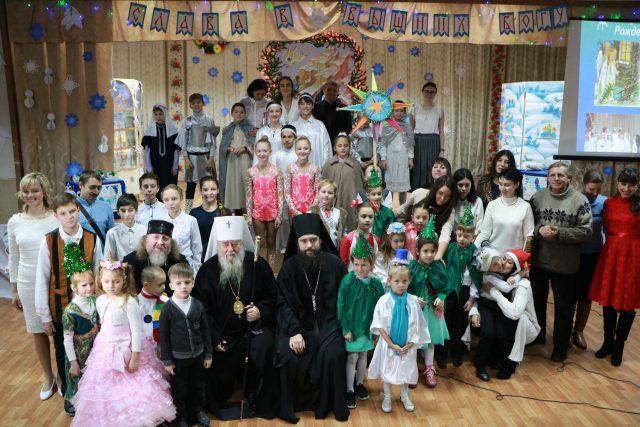 Рождественский утренник театра детской богословской школы «Лествица»