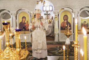 В дни Рождественских святок митрополит Ириней с архипастырским визитом посетил Свято-Успенский собор г. Днепра