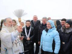 В праздник Крещения Господня митрополит Ириней возглавил праздничное богослужение в Свято-Троицком кафедральном соборе г. Днепра