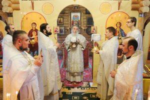 Митрополит Ириней совершил великое освящение храма в честь равноапостольных Константина и Елены по ул. Моторной г. Днепра