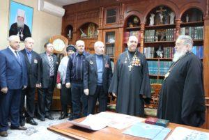 Митрополит Ириней по случаю 30-летия вывода войск из Афганистана вручил церковные награды