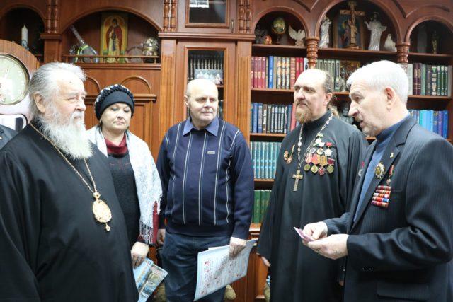 Управляющий Днепропетровской епархией награжден медалью «За громадянську мужність»