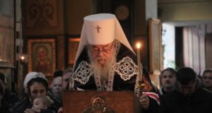 Служение управляющего Днепропетровской епархией митрополита Иринея в понедельник 1-ой седмицы Великого поста 2019 года
