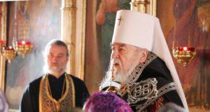 Служение управляющего Днепропетровской епархией митрополита Иринея в четверг первой седмицы Великого поста 2019 года