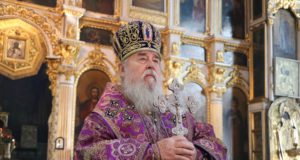 В субботу первой седмицы Великого поста 2019 года митрополит Ириней совершил Литургию в Свято-Троицком кафедральном соборе г. Днепра