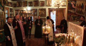 Митрополит Ириней совершил заупокойную литию по новопреставленному протоиерею Сергию Чепель