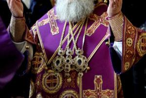 Викарий Днепропетровской епархии епископ Петропавловский Андрей поздравил митрополита Павла с юбилеем наместничества