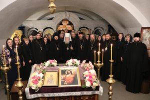 В Успенском соборе состоялась встреча на тему: Размышление на Великий канон преподобного Андрея Критского