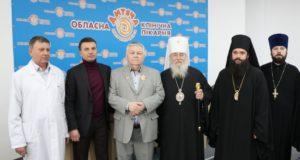 Днепропетровские архипастыри поздравили Виктора Ивановича Сушко с жизненным юбилеем