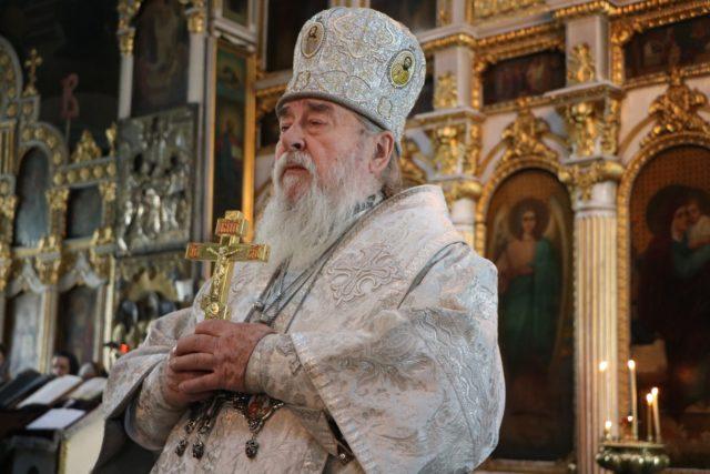Архипастырское служение митрополита Иринея в Лазареву субботу Великого поста 2019 года