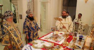 Во вторник Светлой седмицы митрополит Ириней посетил храм «Иверской» иконы Богородицы на ж/м «Северный»