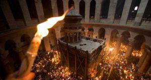 Список храмов Днепропетровской епархии куда будет доставлен Благодатный огонь