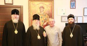 Днепропетровские архипастыри поздравили ректора ДНУ с днем рождения