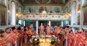 В пятницу Светлой седмицы митрополит Ириней посетил кафедральный собор г. Павлограда