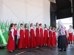 В г. Днепр на Монастырском острове состоялся ХVI Пасхальный фестиваль духовных песнопений