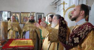 Митрополит Ириней посетил Иоанно-Богословский храм пгт. Подгородное