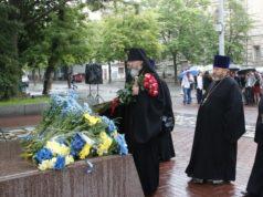 В Днепре отметили 158-ю годовщину перезахоронения Тараса Шевченко
