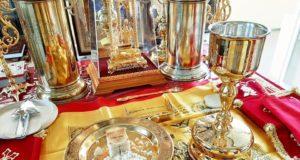 В последний день весны 2019 года совершена Божественная Литургия в домовом храме
