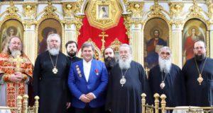 Архиереи УПЦ поздравили директора ДОКОЮ Валерия Сердюка с днем рождения