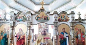 В день отдания праздника Вознесения Господня совершена Литургия в домовом храме