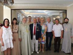 Митрополит Ириней поздравил Валерия Чумака с жизненным юбилеем