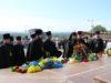 Духовенство епархии возложили цветы к монументу Славы