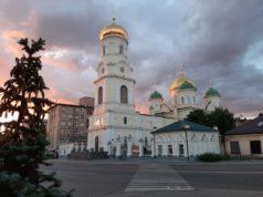 Накануне дня памяти всех святых, в земле Русской просиявших митрополит Ириней возглавил всенощное бдение в главном соборе епархии
