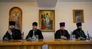 Руководитель юридического отдела принял участие в собрании представителей епархиальных юридических отделов УПЦ