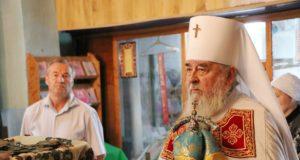 Митрополит Ириней посетил Свято-Успенский храм пгт. Межевая
