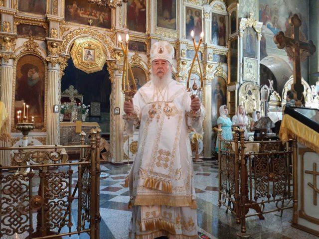 Архипастырское служение митрополита Иринея в Неделю 4-ю по Пятидесятнице