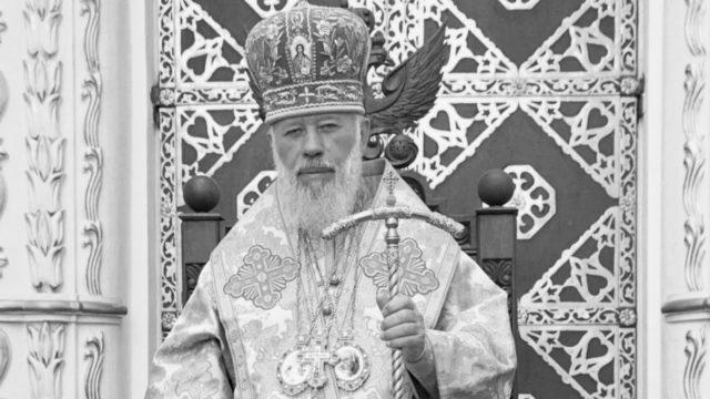 В 5-ю годовщину со дня кончины Блаженнейшего Митрополита Владимира в домовом храме совершена литургия