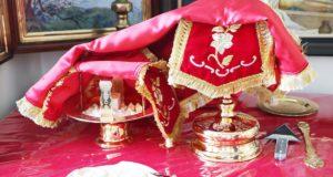 В последнюю пятницу июля совершена Литургия в домовом храме