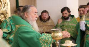 Митрополит Ириней возглавил торжества общины в честь преподобного Серафима Саровского г. Днепра